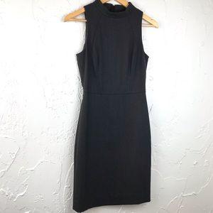 JCrew Mock Neck Wool Sleeveless Dress